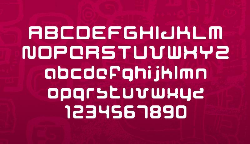 The Maya Font Image