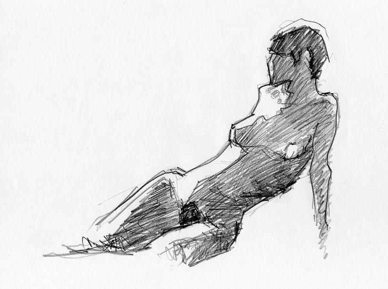 Croquis de femmes Image