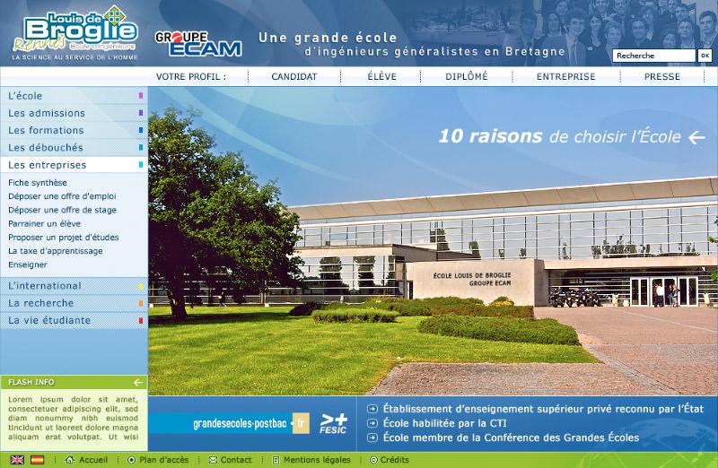 Ecole Louis de Broglie Image